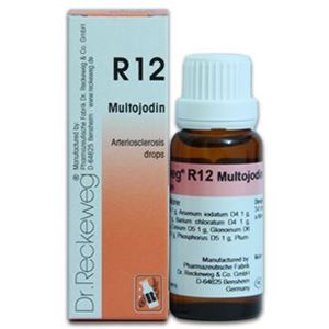 Picture of Dr. Reckeweg R 12 Arteriosclerosis Drops - 22 ML