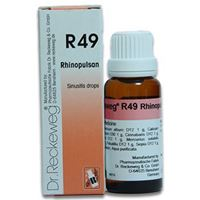 Picture of Dr. Reckeweg R 49 Sinusitis Drops - 22 ML
