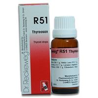 Picture of Dr. Reckeweg R 51 Thyroid Drops - 22 ML