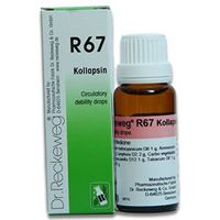 Picture of Dr. Reckeweg R 67 Drops for Circulatory Debility - 22 ML