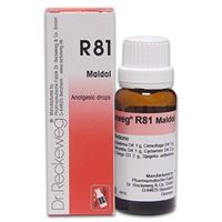 Picture of Dr. Reckeweg R 81 Maldol - Analgesic