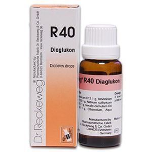 Dr  Reckeweg Pakistan  Dr Reckeweg R 40 Diabetes Drops - 22 ML
